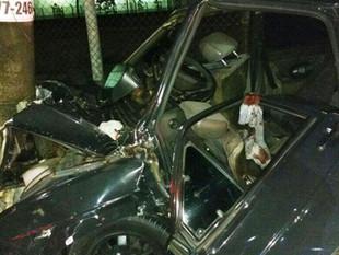 Homem fica ferido em acidente na Avenida Constantino Nery