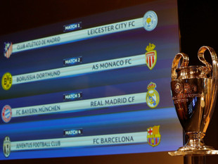 Bayern x Real e Barça x Juve farão duelos de campeões nas quartas de final