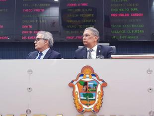 Vereador Fred Mota Participa de Sessão Ordinária que Firma Parceria entre CMM E TJAM