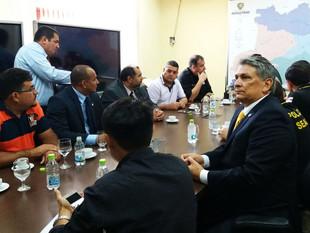 Fred Mota Participa De Reunião Com A Cúpula Da Segurança Pública Do Amazonas para Melhorias do Siste