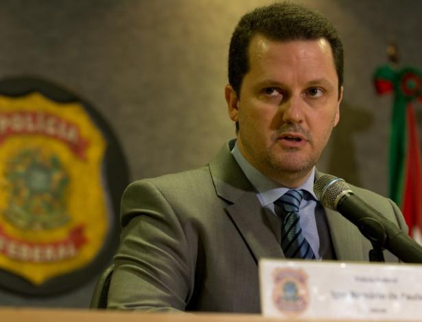 O delegado federal Igor Romário de Paula comanda a equipe da Lava Jato