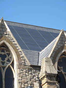 Integration of sustainable pv tiles and the existing built fabric of a historic building