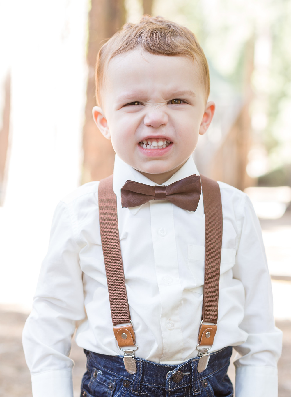 "ring bearer ""smile"""