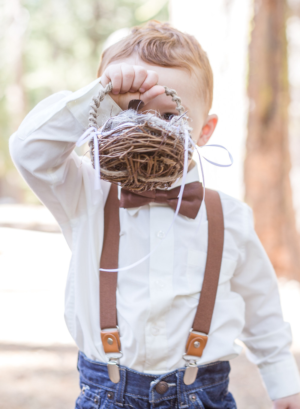 ring bearer hiding