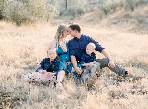 Fall Foothill Maternity Session | Calculated Whisks