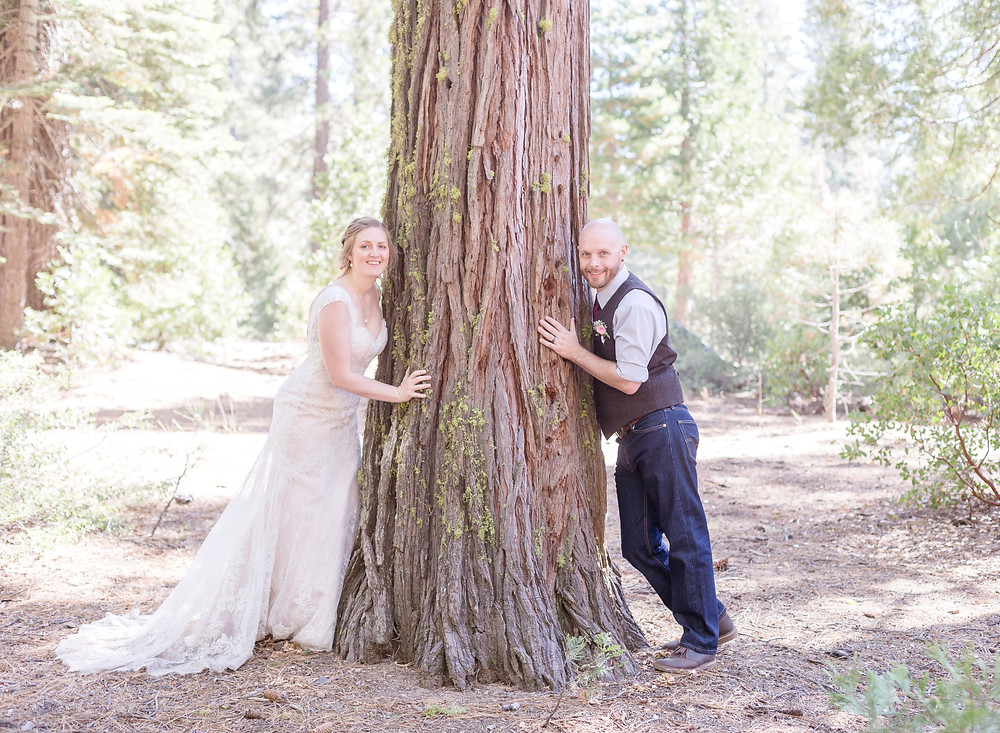 Bride & Groom tree