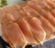 A plate of Spearfish Sashimi