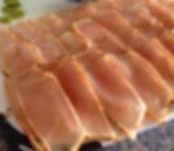 A plate of Spearfish Sashimi