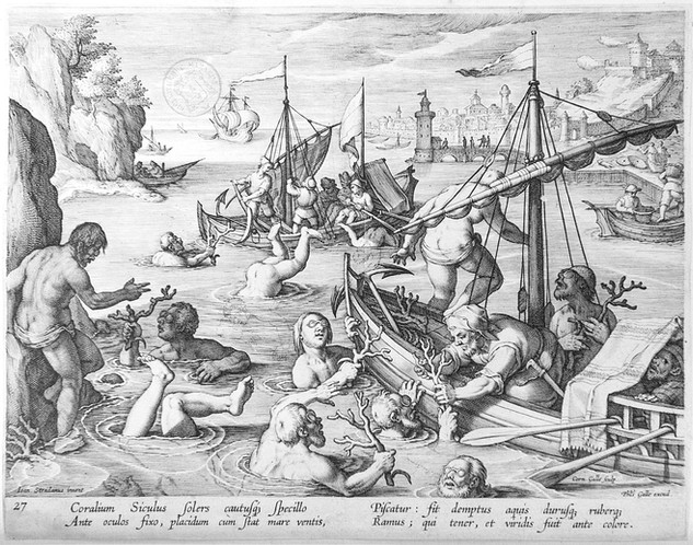 Engraving by Philippe Galle XVII