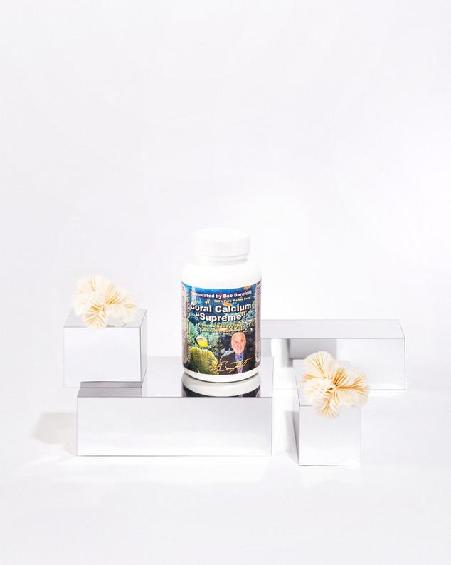 Pill box Coral calcium Supreme