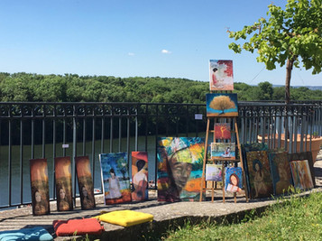 Exposition Art'Strato à Conflans-Sainte-Honorine (78) - 2019