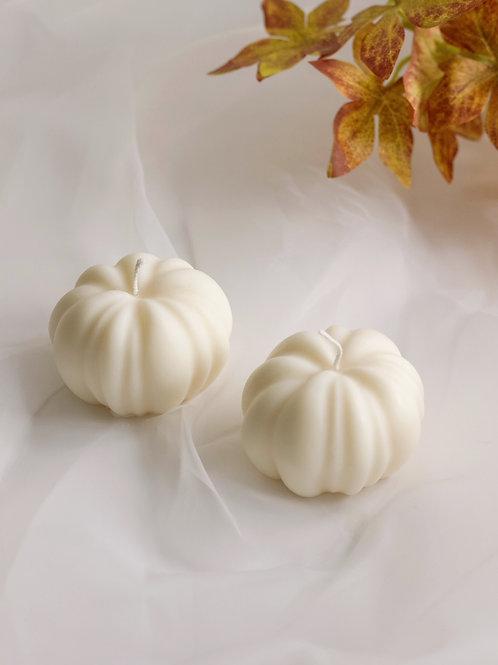 White Pumpkin Candle