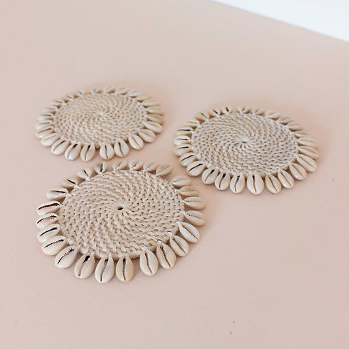 Cowrie Shell Coaster