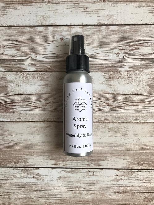 Waterlily & Rose Aroma Spray