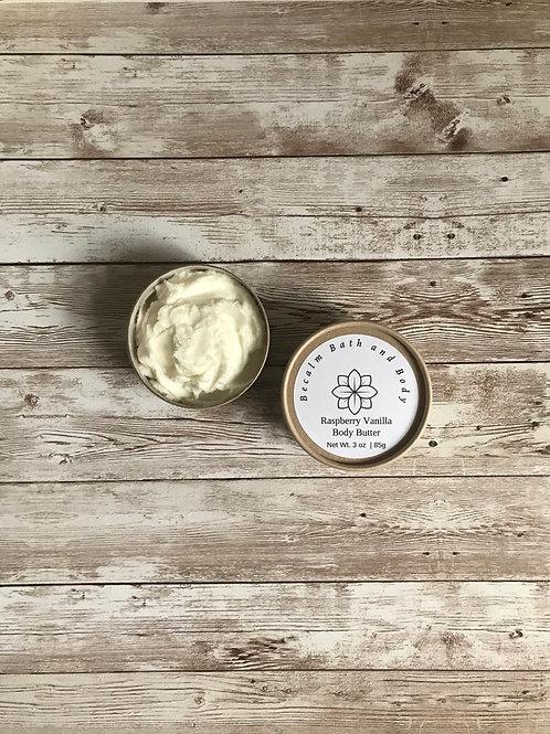 Raspberry Vanilla  Body Butter