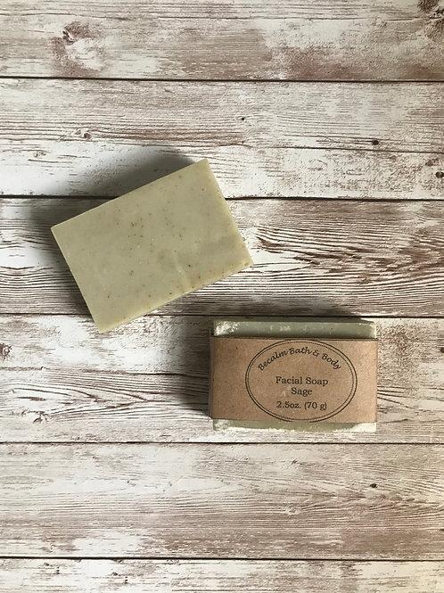 Sage Facial Soap