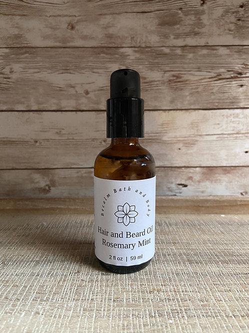 Rosemary Mint Hair & Beard Oil