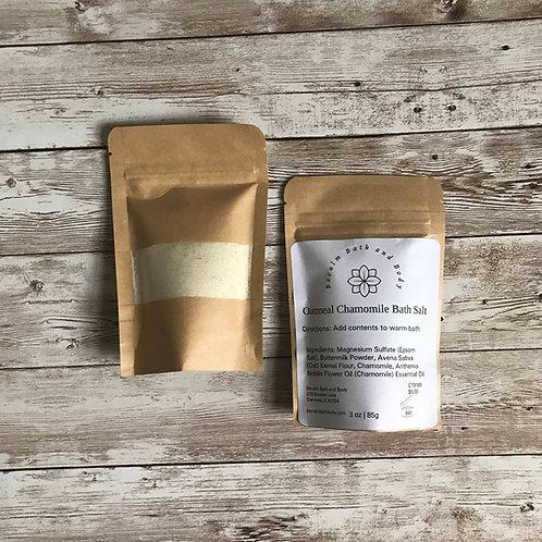 Bath Salt- Oatmeal Chamomile