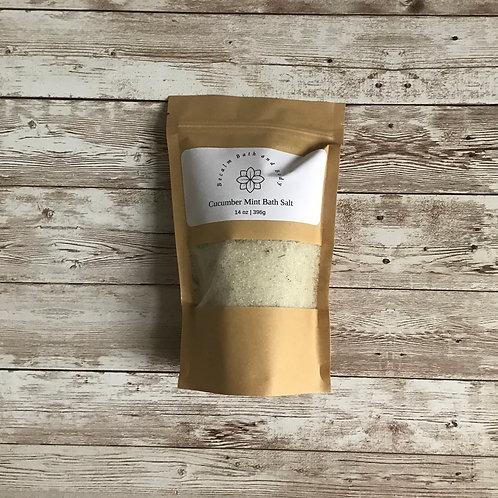 Bath Salt- Cucumber Mint