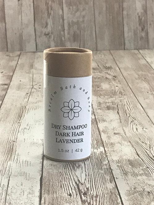 Dark Hair- Lavender Dry Shampoo