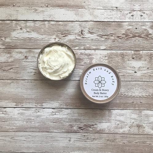 Cream & Honey Body Butter