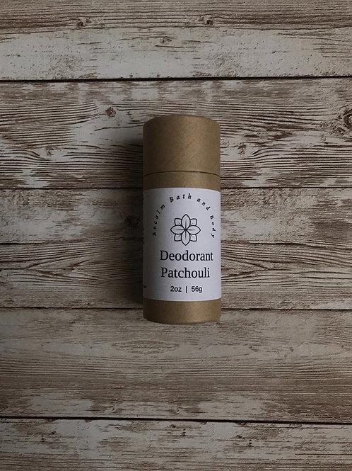 Deodorant-Patchouli/Tea Tree