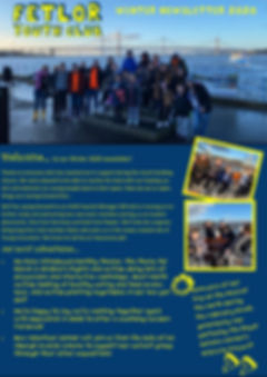 FetLor Youth Club Winter Newsletter 2020