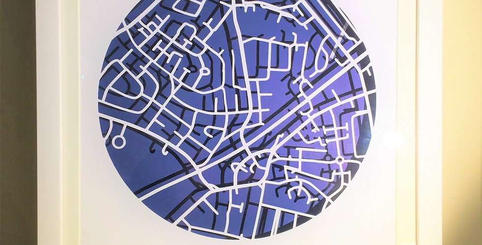 Killester, Papercut map