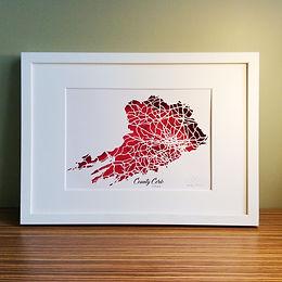 Irish County Maps