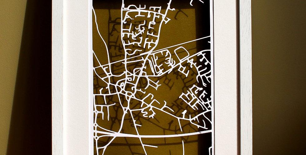 Kildare papercut