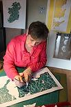 Barbara Burke papercut artist