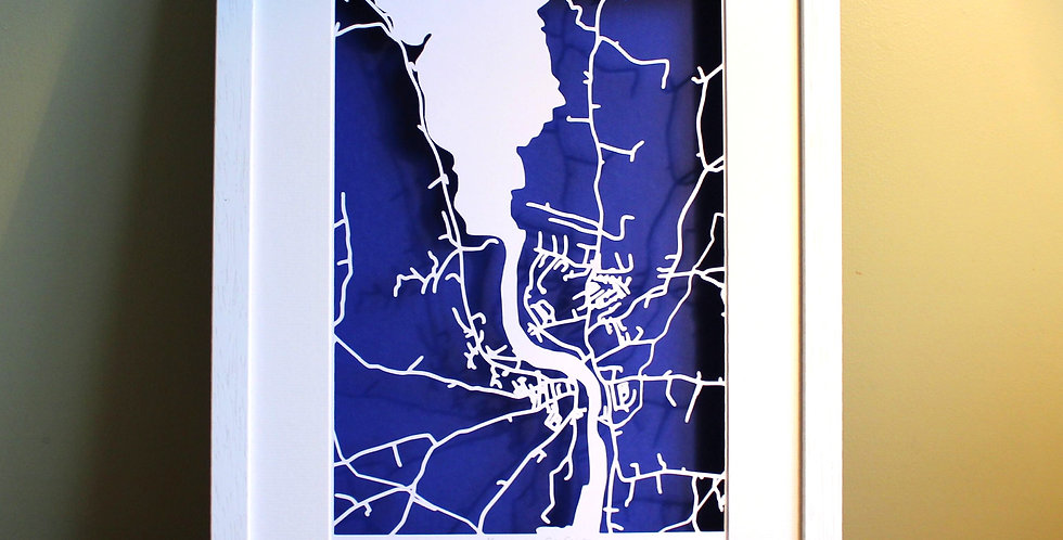 Killaloe papercut map