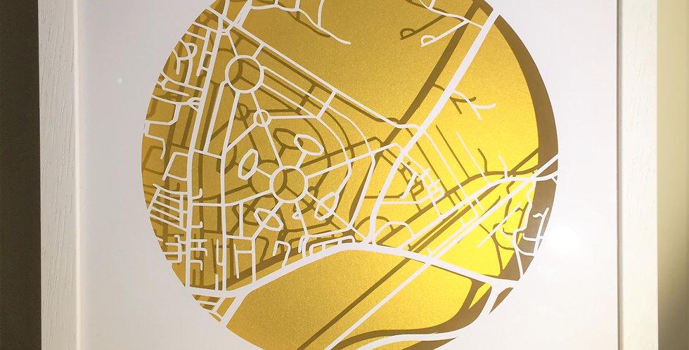 Marino Papercut maps