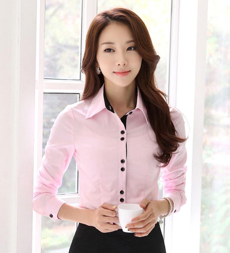 Blusa para uniformes empresariales