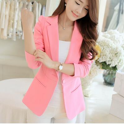 Blazer rosado para uniformes