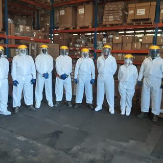 Traje T180 de Bioprotección Personal Manufact