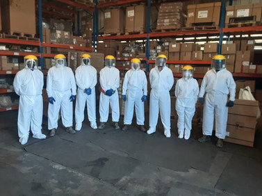 Traje de Bioprotección Personal Manufacturero
