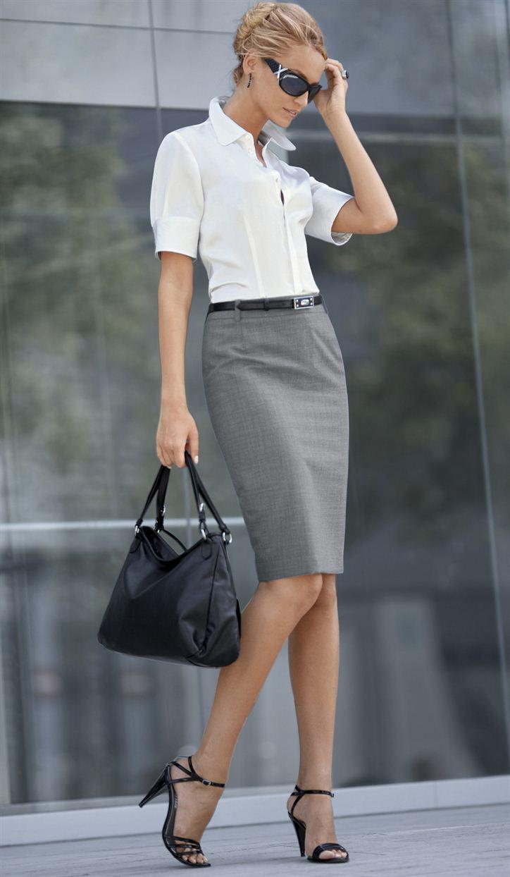 blusa dama  y falda 1