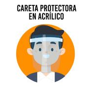 Careta Protectora en Acrílico