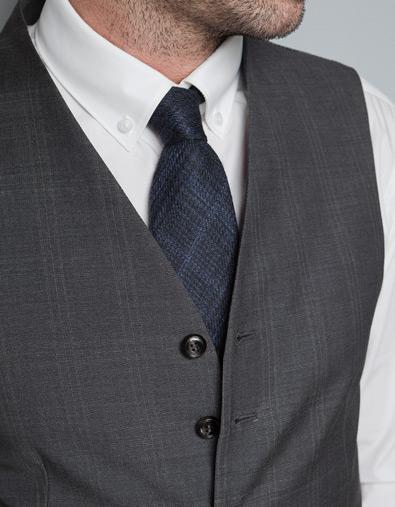 Chaleco para uniformes empresariales