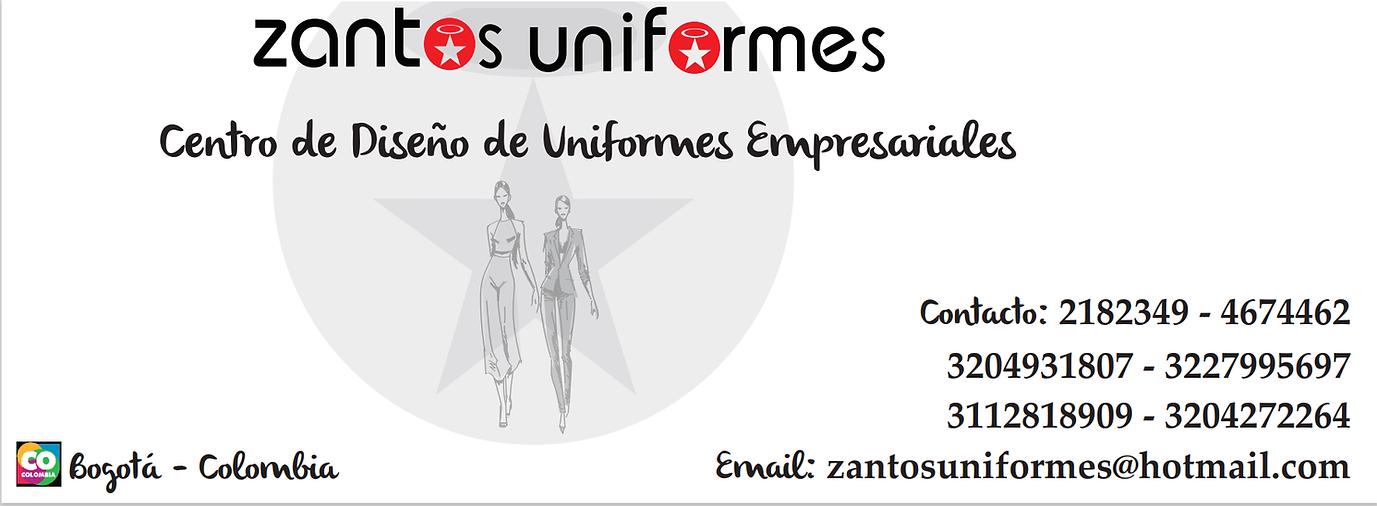 banner portada pagina web zantos uniform