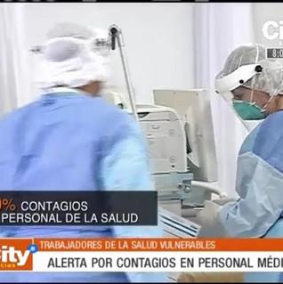 Noticias Contagio de Medicos Colombia Co