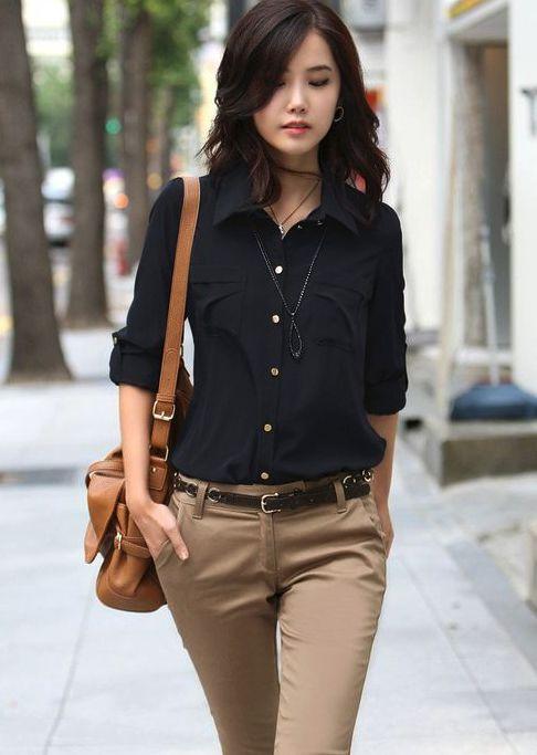Factibilidad Hazme Generosidad Moda De Pantalon Y Blusa Para Dama Ocmeditation Org