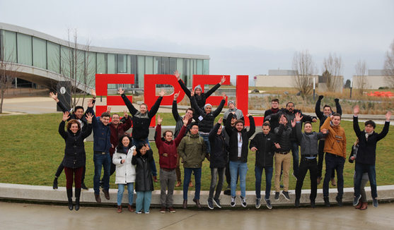Group photo at the CMEP workshop, EPFL, Lausanne, Switzerland, 9-12 February 2020.