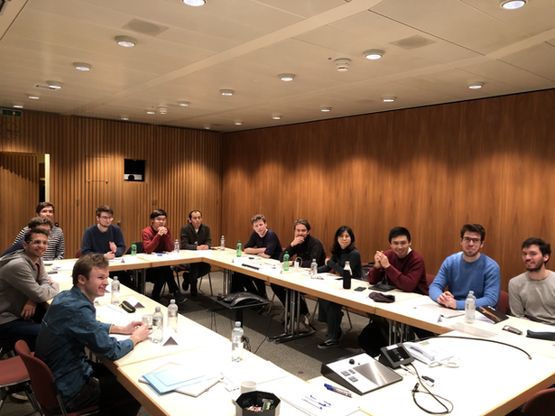 Early Stage Researchers at the Taking an idea into a product workshop. IBM, Zurich, Switzerland,12-14 February 2020