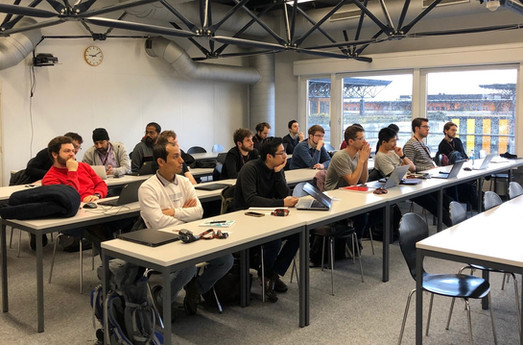Early Stage Researchers at the CMEP workshop, EPFL, Lausanne, Switzerland, 9-12 February 2020.