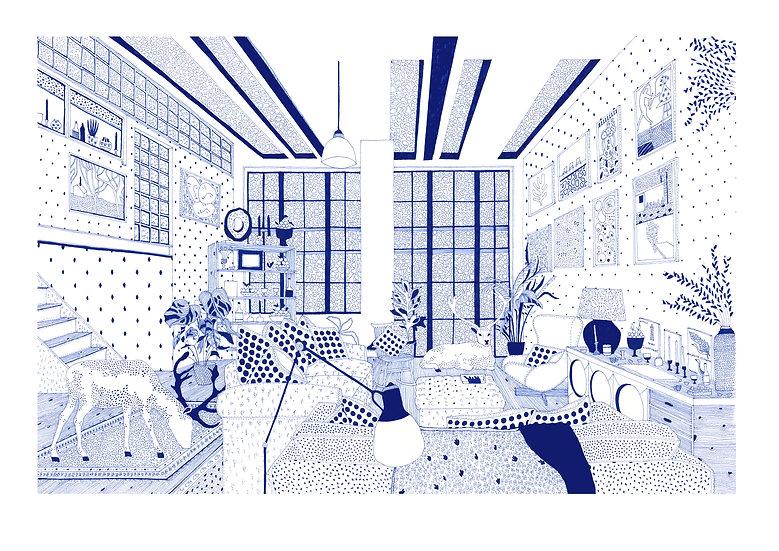 Hampstead Giclêe Print