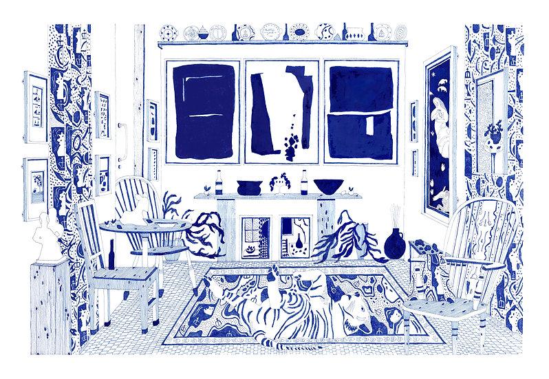 Kettle's Yard Giclêe Print
