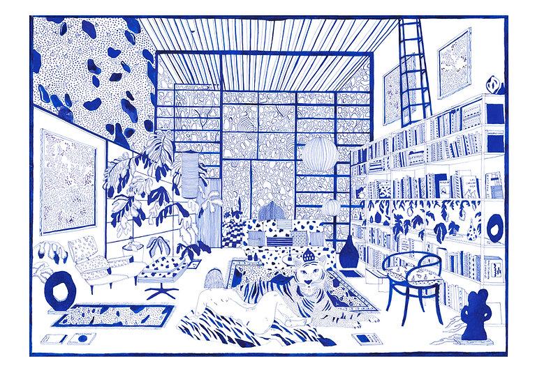 Eames House Giclêe Print