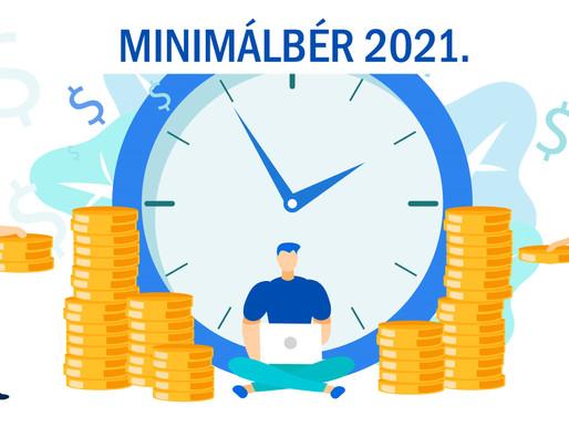 Minimálbér 2021-ben